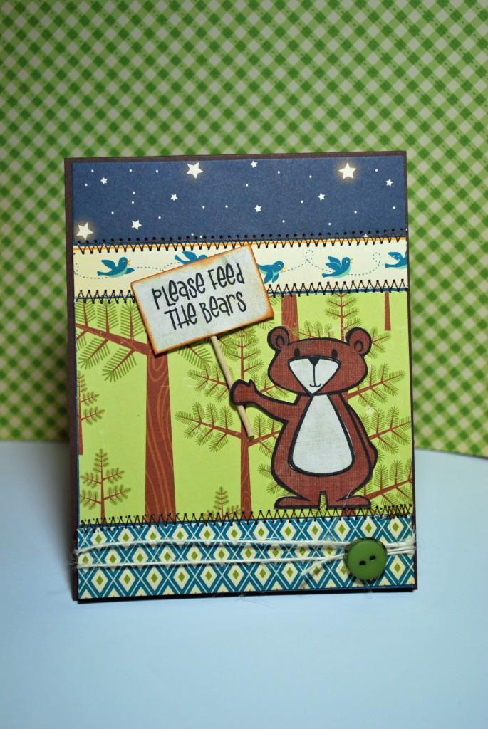 Please Feed the Bears by Shiny Tin Foil