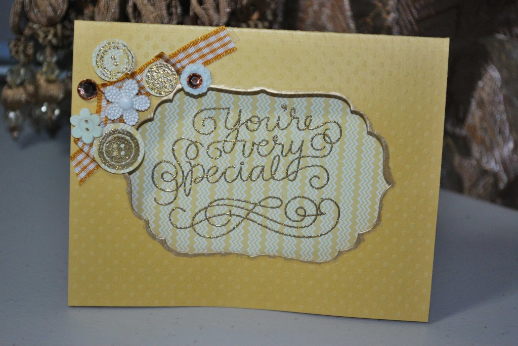 Glitter-card
