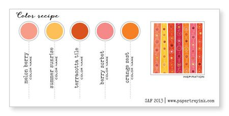 card color chart