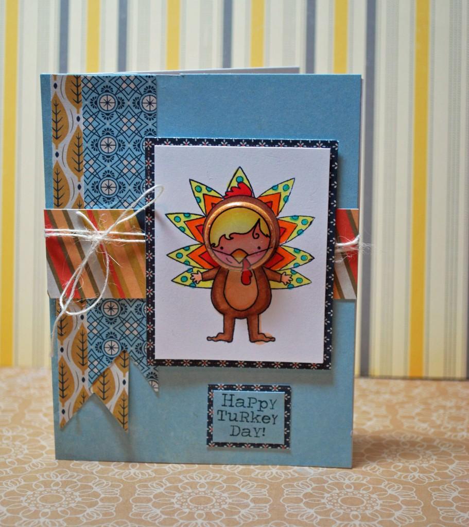 Turkey Card by Shinytinfoil.com