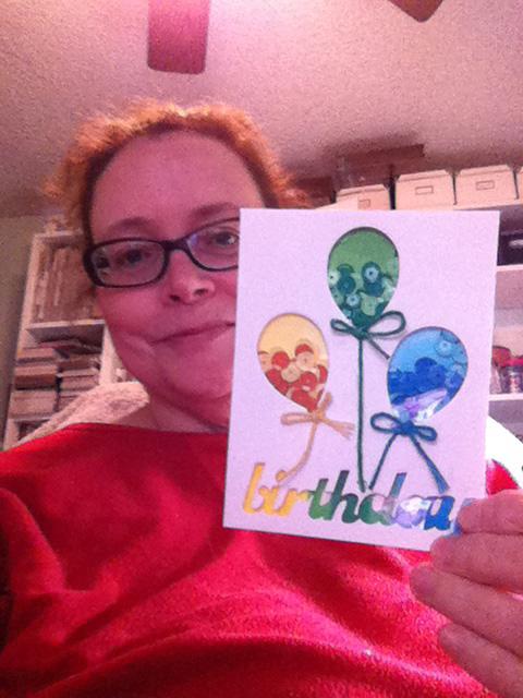 Karen birthday card new