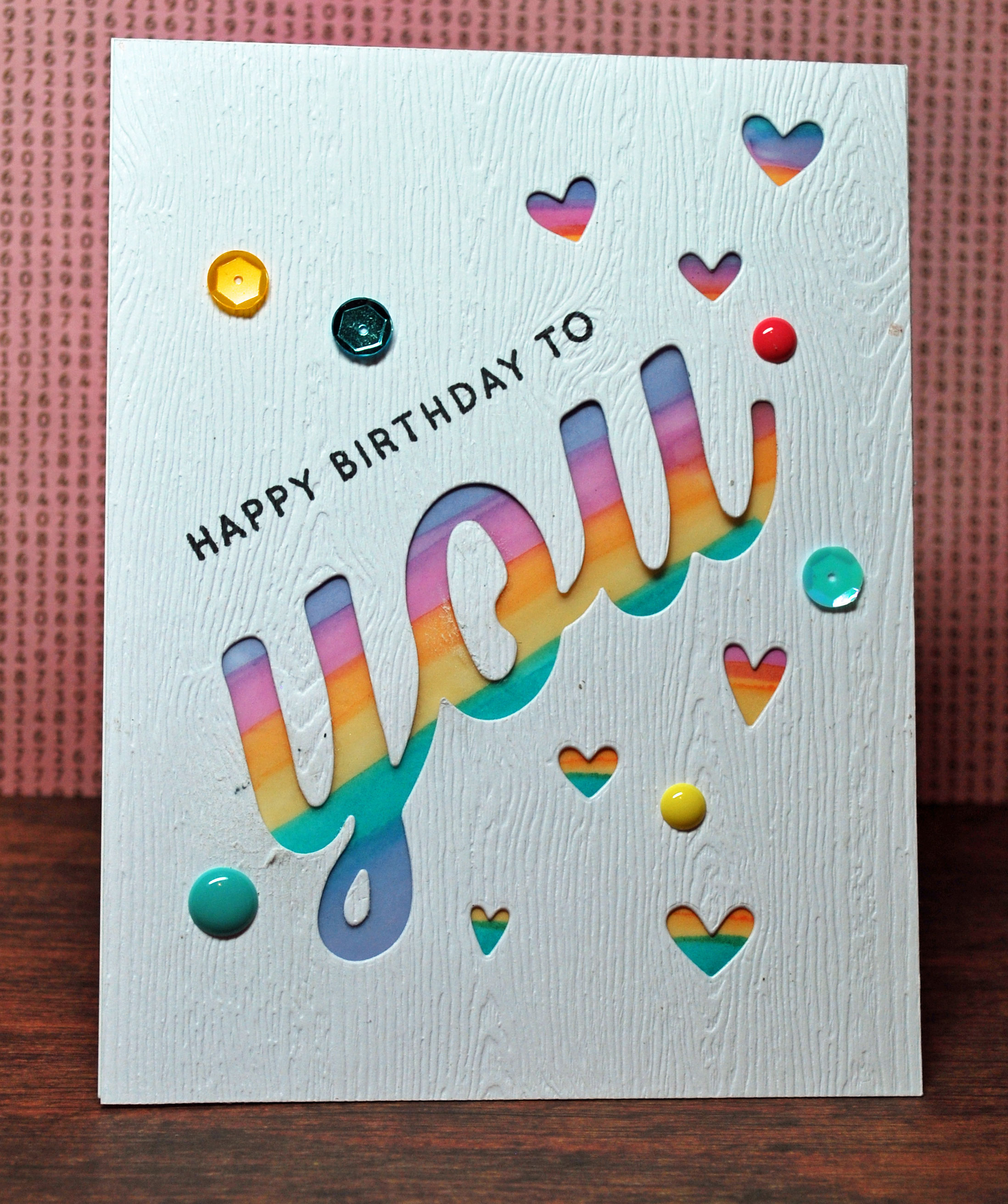 Shiny Tin Foil Blog Archive Big You Happy Birthday Card