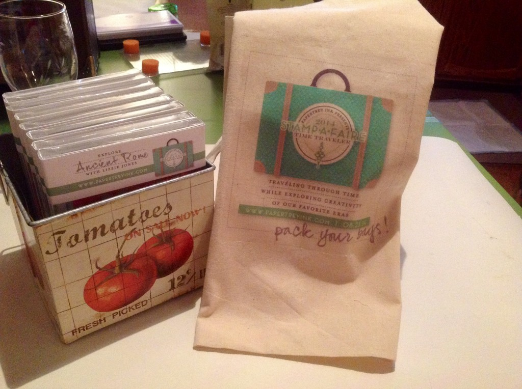 Tote bags for Stamp-a-Faire