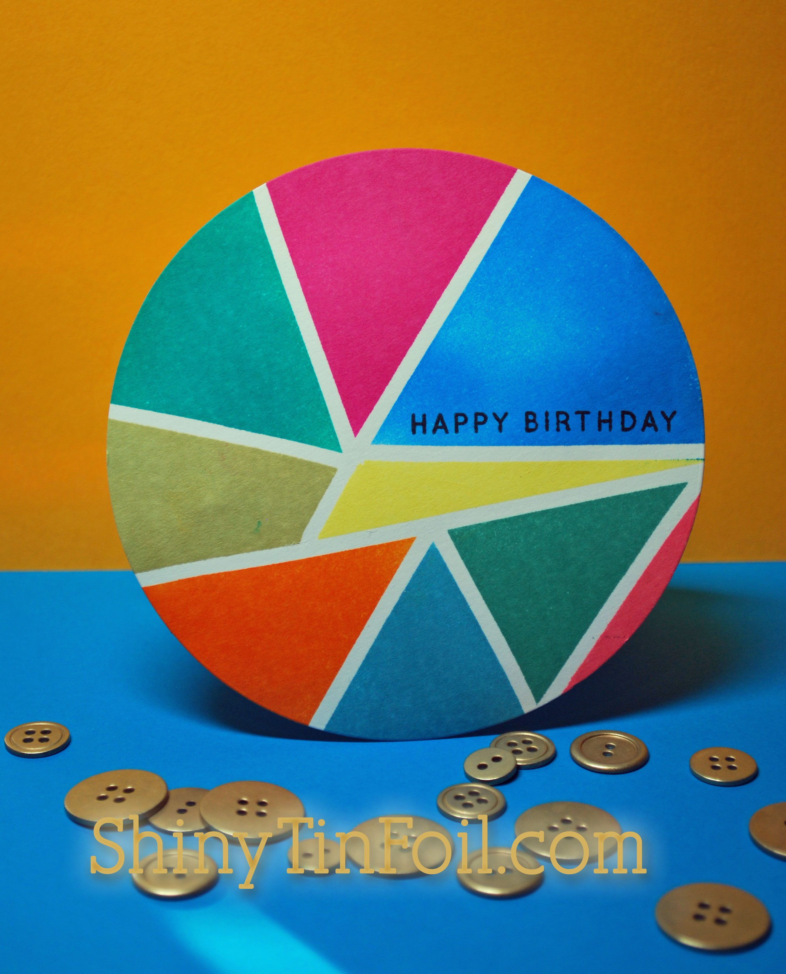 shiny tin foil blog archive color wheel happy birthday