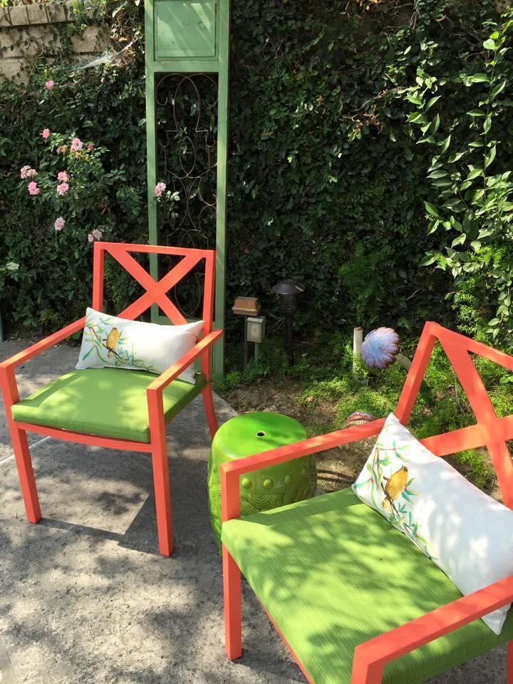 Green Sitting area