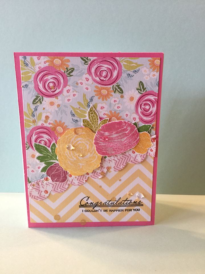 Mix and Match flower Card