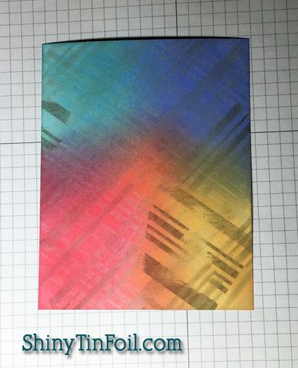 Plaid ink over plaid copy