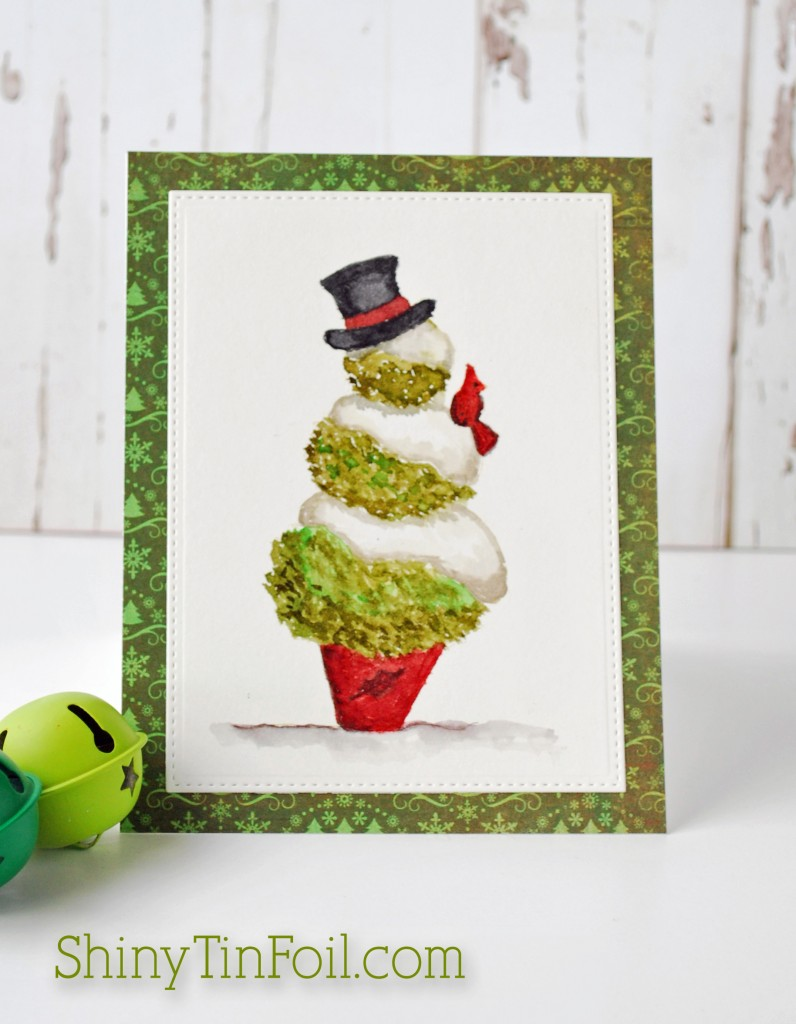 Snowman Topiary copy