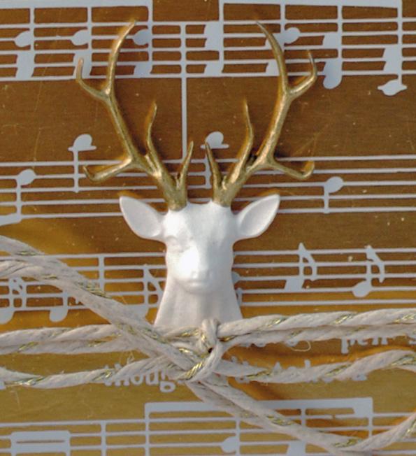 Day 7 - Shimmer deer closeup