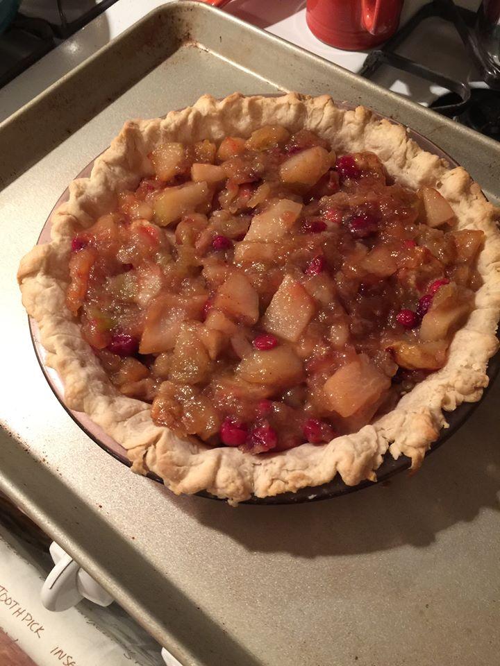 Pie filled