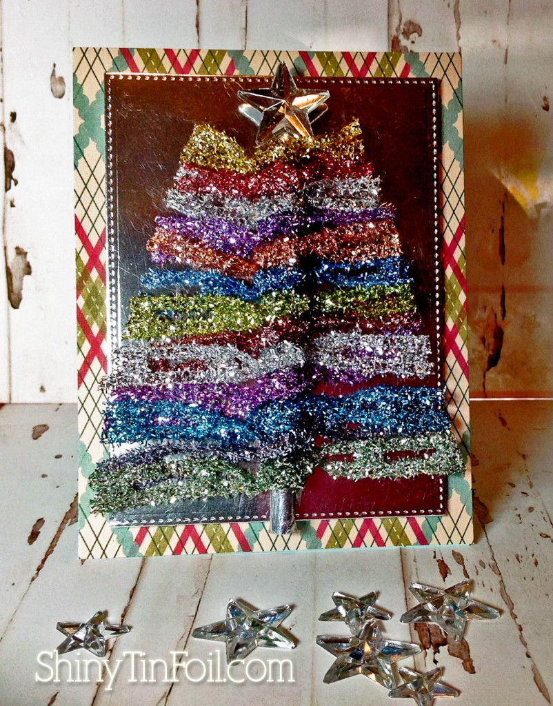 tinsel tree card copy