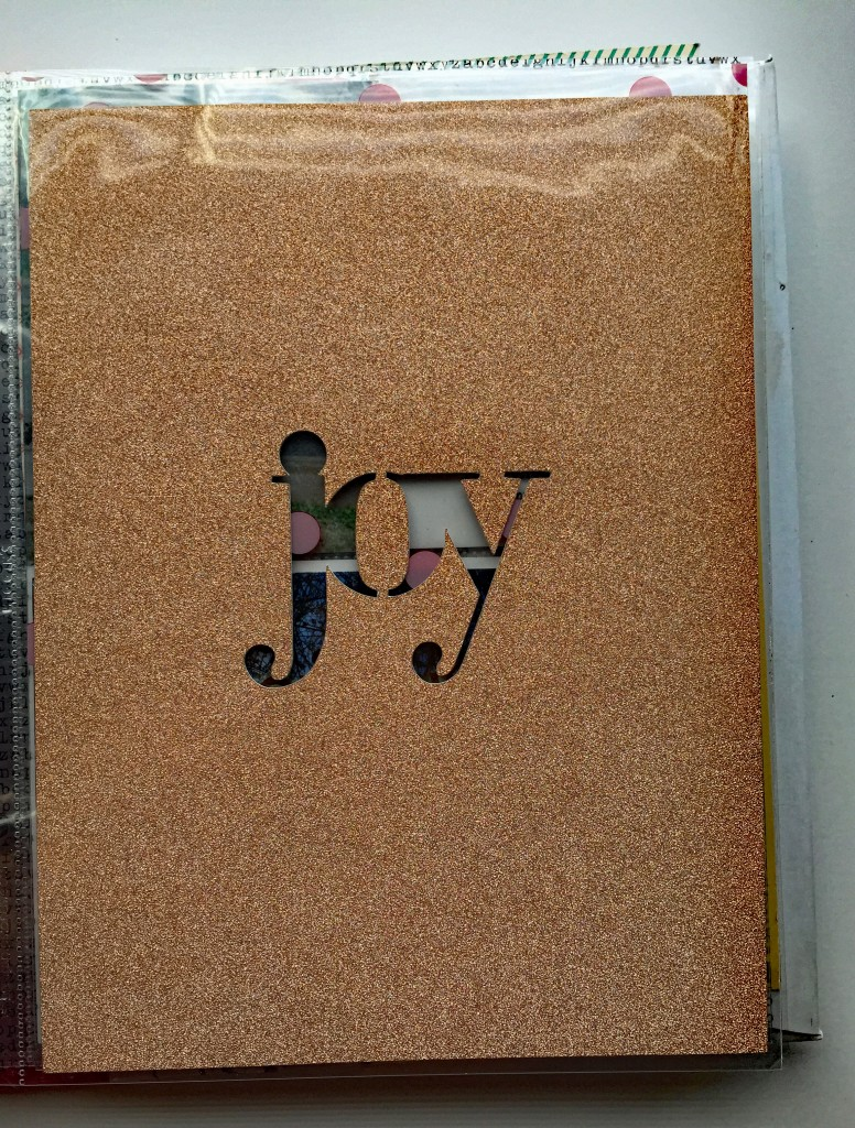 Joy glitter