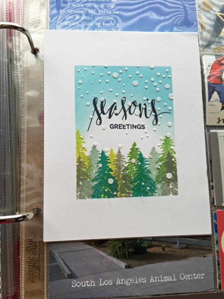 My Christmas card