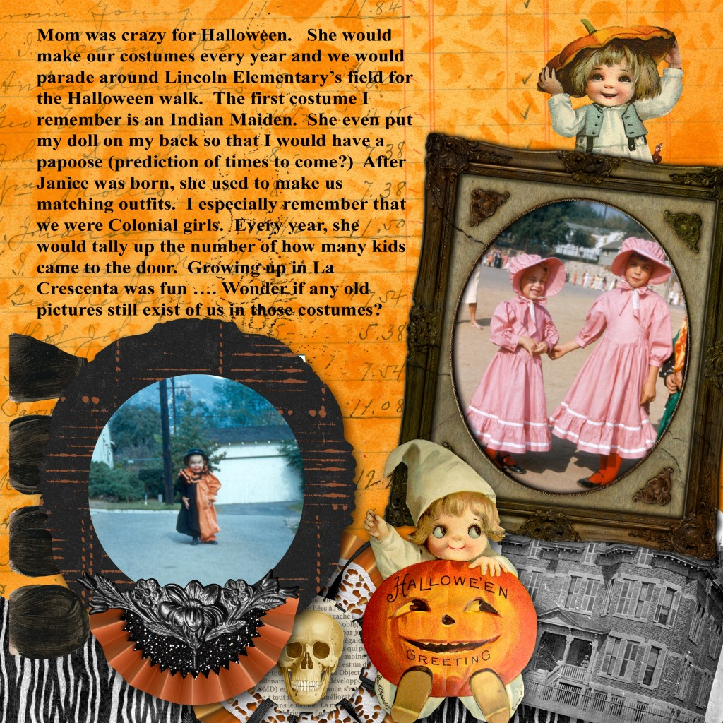 Halloween Page Four