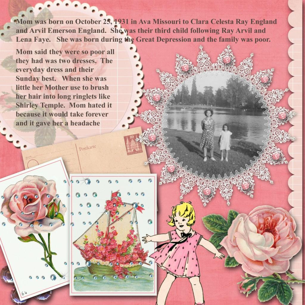 Mom pink sheet