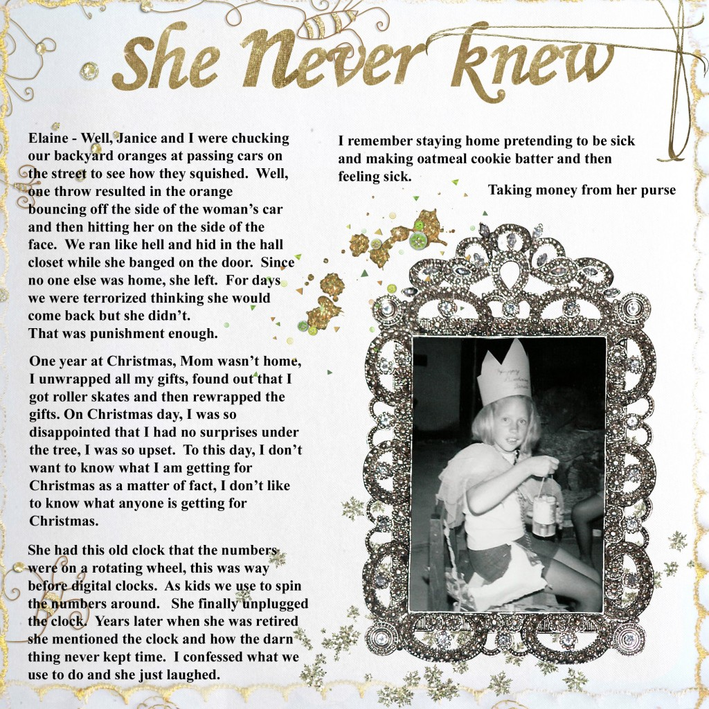 She Never Knew