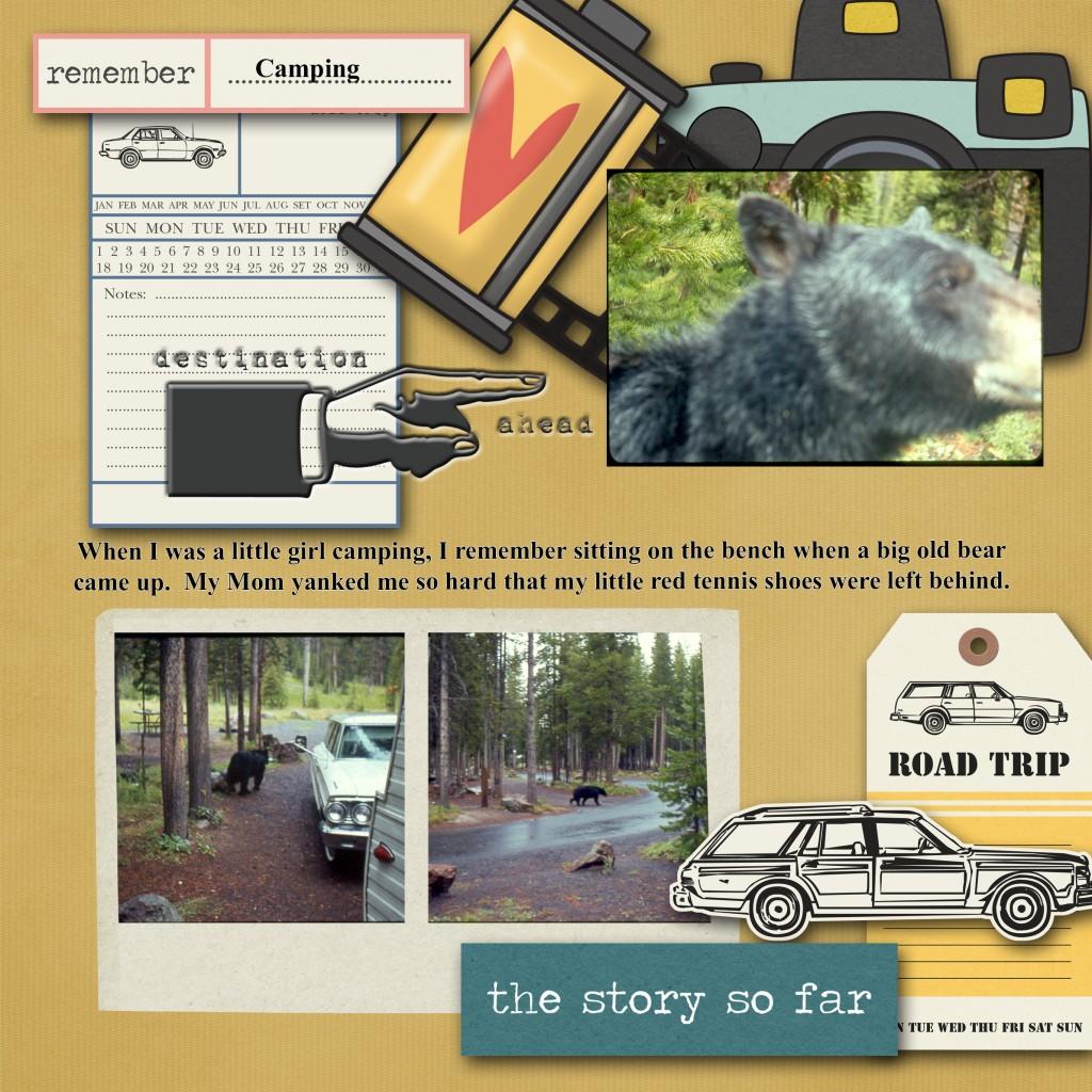 camping bear story