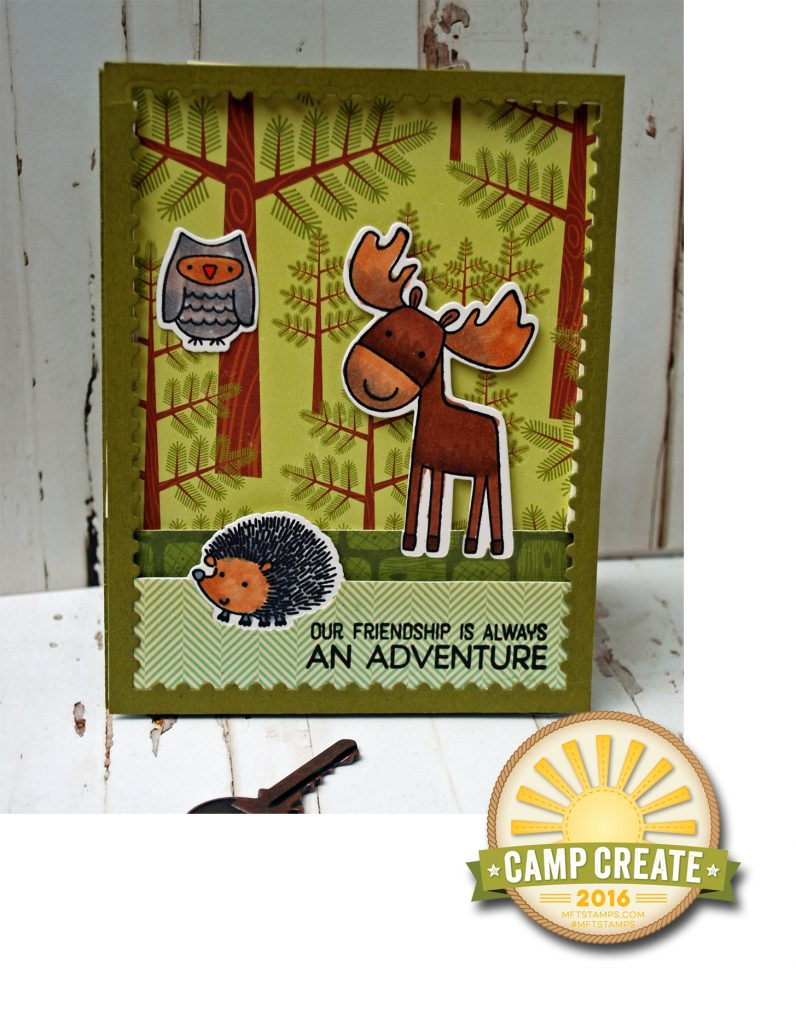 Camp Create Die Cutting
