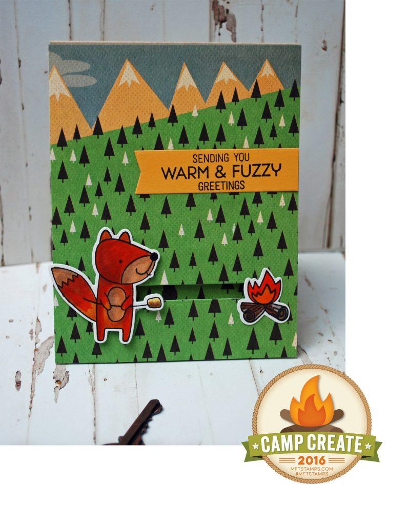Camp Create Slider Card