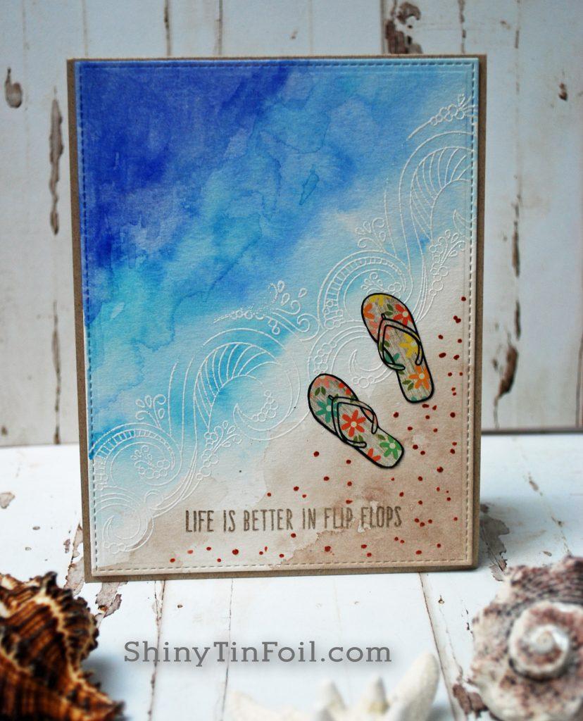Beach and Flip Flops