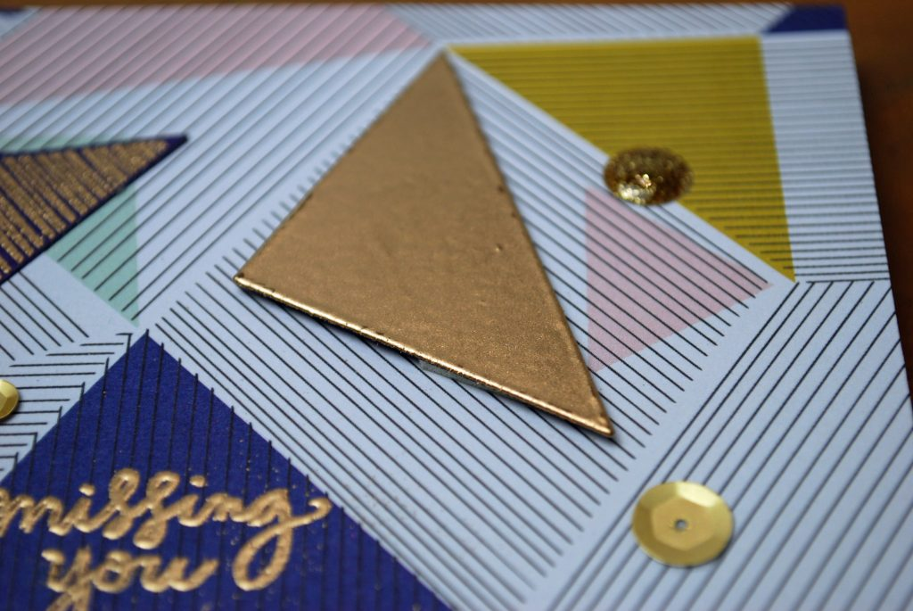 Triangle Card closeup