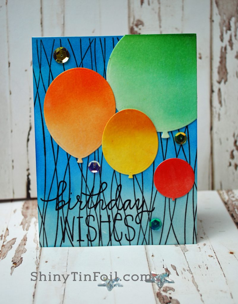 Birthday Wishes Balloon