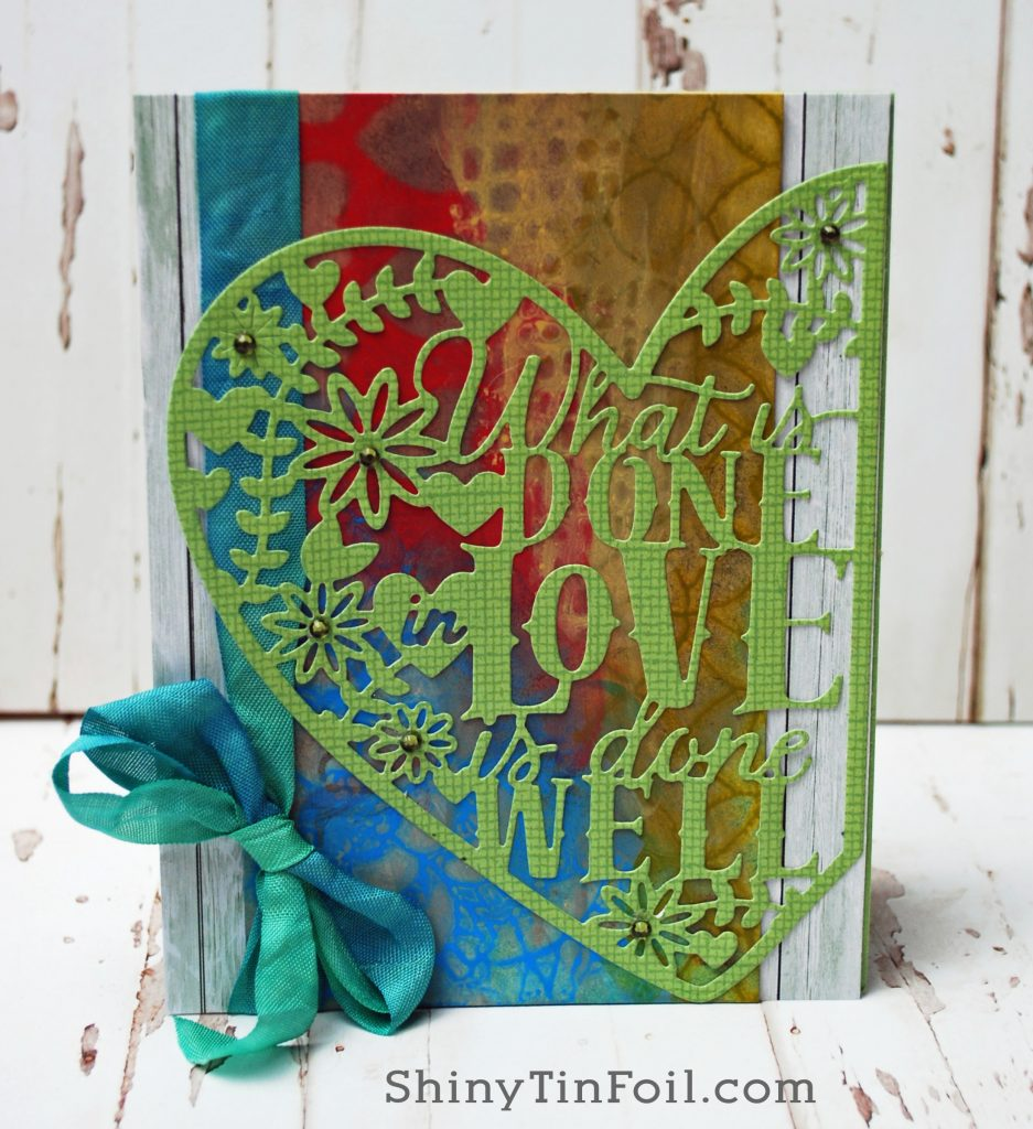 Day Two Paint Lifting love card