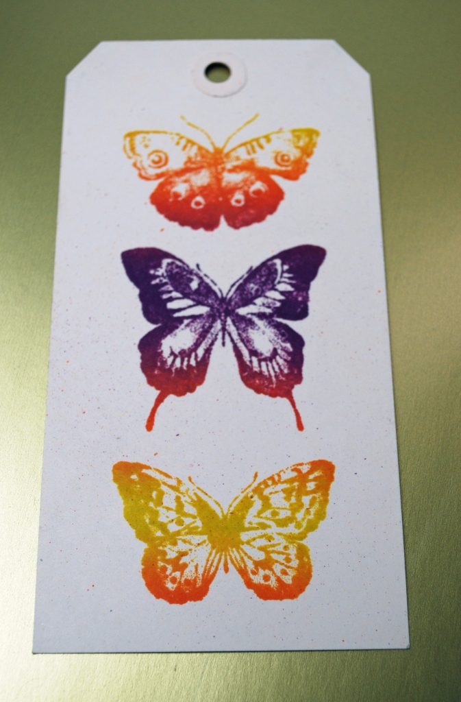 Tag Ombre Butterflies