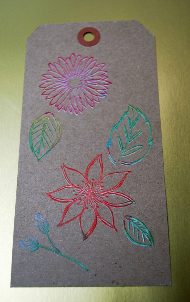 Tag Picket Fence Flowers